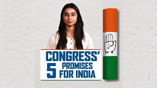 Congress Manifesto 2019 | Congress 5 Promises for India