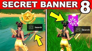 SECRET BATTLE STAR WEEK 8 SEASON 8 LOCATION Loading Screen Fortnite – WEEK 8 SECRET BANNER REPLACED