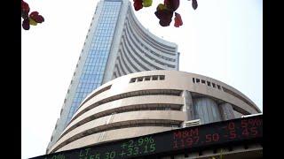 Sensex falls 135 pts, Nifty ends at 11,750; RIL gains 3%