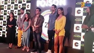 POISON - Webseries Launch - Riya Sen, Arbaaz Khan, Tanuj Virvani, Freddy Daruwala - Zee5