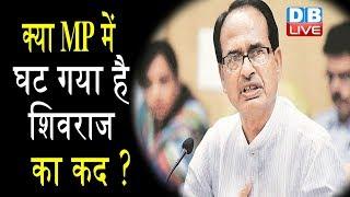 BJP की सूची में खिसका Shivraj का नाम , Congress ने ली BJP पर चुटकी #DBLIVE