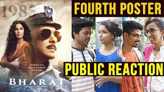 BHARAT Fourth Poster | PUBLIC REACTION | Salman Khan's NAVAL OFFICER LOOK | Katrina Kaif