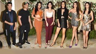 Bollywood Hotties At Manish Malhotras Grand Party | Ananya Panday, Tara Sutaria, Khushi, Kiara