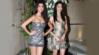 Student Of The Year 2 Actresses Ananya Panday And Tara Sutaria At Manish Malhotra Party