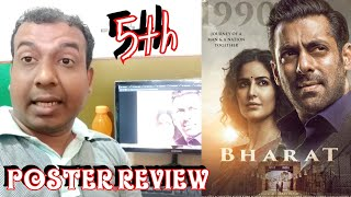 Bharat 5th Poster Review l All Posters Review