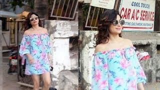 Shamita Shetty Snapped At Kromakay Salon Juhu