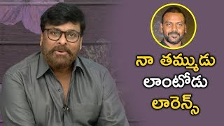 Mega Star Chiranjeevi About Lawrence - Kanchana 3 - Bhavani HD Movies
