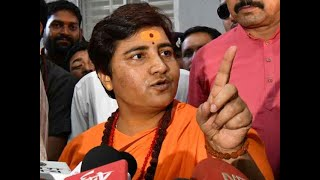 Sadhvi Pragya Thakur apologizes for her statement on late Hemant Karkare