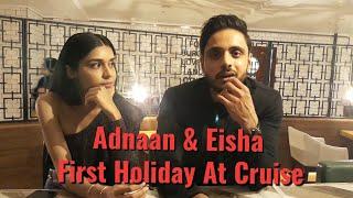 Adnaan Khan & Eisha Singh On Holiday Trip To Karnika Ship Cruise Inauguration
