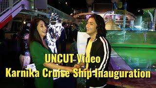 UNCUT: Adnaan Khan, Eisha Singh & Zain Imam At Karnika Cruise Ship Inauguration