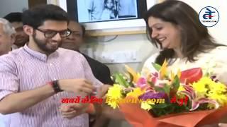 प्रियंका चतुर्वेदी शिवसेना में शामिल, क्या बोले उद्धव ठाकरे   Priyanka Chaturvedi joins Shiv Sena