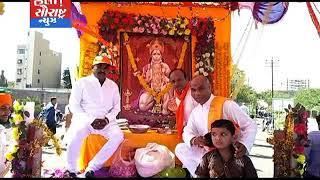 જામનગર-હનુમાન જયંતિ નિમિતે વિશ્વ હિન્દૂ પરિષદ દ્વારા બાઈક રેલી યોજાય