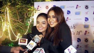 Reem Sameer Shaikh And Anushka Sen At Bhavesh's 18th Birthday Party