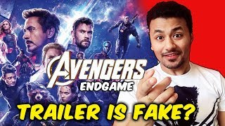 Shocking! Avengers Endgame Trailer FAKE? | Russo Brothers Interview | Thanos Vs Super Heroes