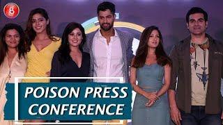 Poison Press Conference  - A ZEE5 Original | Arbaaz Khan, Tanuj Virwani, Riya Sen
