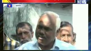 बुजुर्ग तारा सिंह खाट पर पहुंचे मतदान केंद्र    ANV NEWS AGRA - NATIONAL
