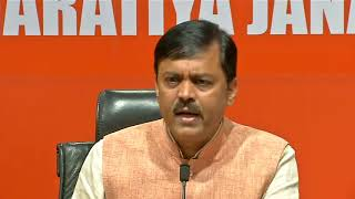 Media Briefing by Shri GVL Narasimha Rao at BJP Head Office, New Delhi : 20.04.2019