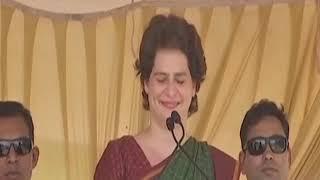 Smt. Priyanka Gandhi Vadra addresses a public meeting in Wayanad, Kerala