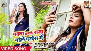 """Lal Babu""""Tiger"""" भोजपुरी का सबसे हिट गाना 2019 -गवना कराके राजा गईले परदेश में - Bhojpuri Video Song"""