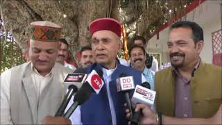 20 N 2 B 1  Prem Kumar Dhumal promoted in favor of Anurag Thakur