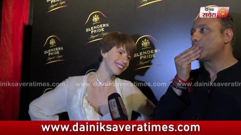 Exclusive : Kalki Koechlin likes 'Lassi' in Punjabi Food Most | Dainik Savera