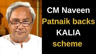 CM Naveen Patnaik backs KALIA scheme