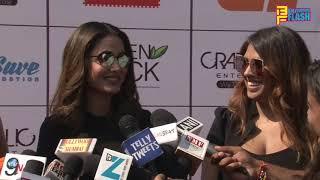 Uncut: Hina Khan & Flora Saini Supports Cancer Awareness Campaign Of Life Care Foundation