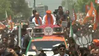 Shri Amit Shah's Roadshow in Ahmedabad, Gujarat : 21.04.2019