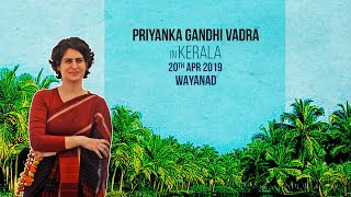 WATCH: Smt. Priyanka Gandhi Vadra addresses a public meeting in Wayanad, Kerala