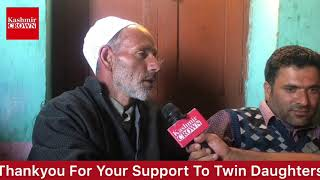 #DaughtersWithoutParents:Seerat And Shabnam Thanking People For Support