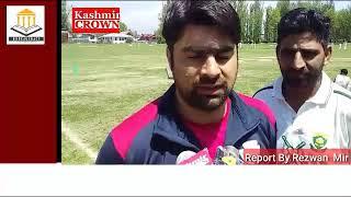 Jammu and kashmir Cricket Association (JKCA) starts talent hunt cricket tournament in Baramulla.Repo