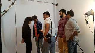 Photo shoot for New film of M C Production.