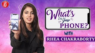 'What's In Your Phone': Rhea Chakraborty ADMITS To Having A CRAZY Number Of Alarms
