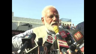 Feels like a holy dip at the Kumbh, says PM Modi after voting