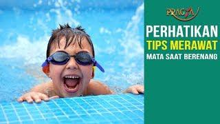 Perhatikan Tips Merawat Mata Saat Berenang