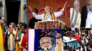 PM Narendra Modi Jee in odisha for Election Campaign.