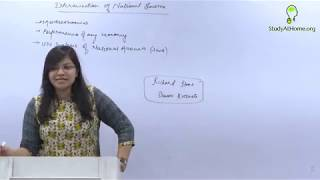 Determination of National Income | Economics for Finance (CA Inter) by CA Aishwarya Khandelwal