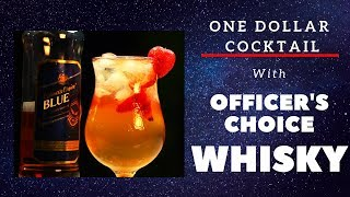 One Dollar Cocktail with whisky | The Kopcha Cocktail | Cocktails India | Dada Bartender