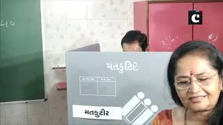 LS Polls: CM Pinarayi Vijayan, CM Vijay Rupani cast their vote