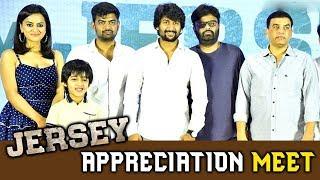 Jersey Movie Appreciation Meet - Nani ,Shraddha Srinath
