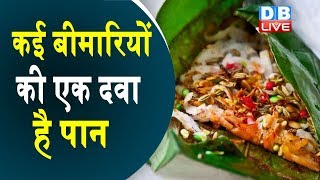 पान खाने के फायदे - Betel Leaf Benefits for Health in Hindi | #HealthLive