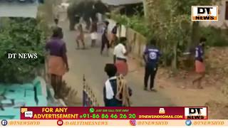 Angry Elephant Entered in City of Kerala | DT NEWS