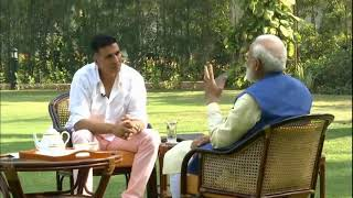 PM Shri Narendra Modi in conversation with Akshay Kumar