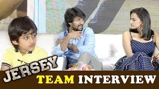 Jersey Movie Team Exclusive Interview   Nani   Shraddha Srinath   Gowtam Tinnanuri