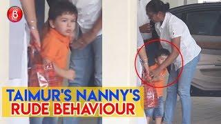 Taimurs Nannys Rude Behaviour Is Infuriating