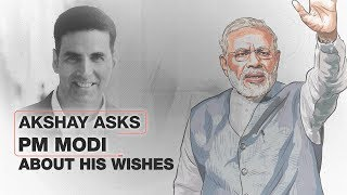 Akshay Kumar asks Modi: What will you seek if you get the Aladdin's magic lamp?