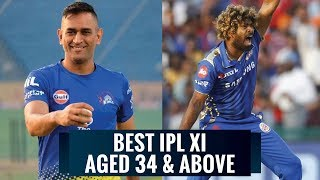 Best Indian T20 League XI of players aged 34 years and above