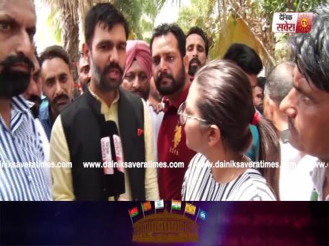 Exclusive Video: Ticket की नाराजगी दूर कर Kewal Dhillon के प्रचार में जुटे Jaswinder Dhiman