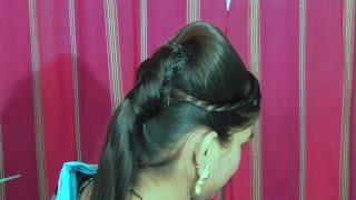 Beautiful Hairstyle For Party/Wedding 2019 | Easy Hairstyles For Long Hair | HairStyle For Girl