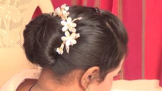 How To Big  Bun For Short Hair - छोटे छोटे बालों से बड़ा जुड़ा बनाये | how to make bun for short hair